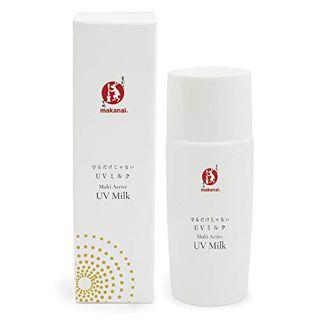 まかないこすめ まかないこすめ Makanai Cosmetics  守るだけじゃない UVミルク SPF50+ PA++++ 50ml 乳香の香りの画像