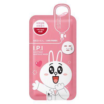 メディヒールのメディヒール × ラインフレンズ I.P.I ライトマックス アンプル マスク 1枚 韓国コスメ MEDIHEAL LINE FRIENDS ライン IPI パックに関する画像1