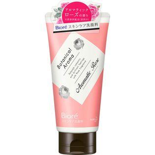 ビオレ 花王ビオレ スキンケア洗顔料 モイスチャーローズの香り130Gの画像