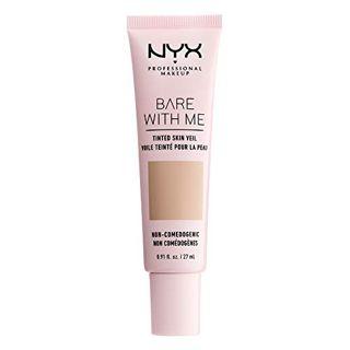 NYX NYX Professional Makeup(ニックス) ベアウィズミー ティンテッド スキン ベール 04 カラー・トゥルー ベージュ バフ 27mlの画像