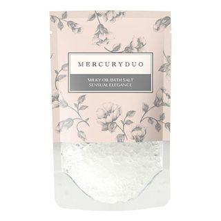 マーキュリーデュオ MERCURYDUOミルキーオイルバスソルト センシュアルエレガンスの香りの画像