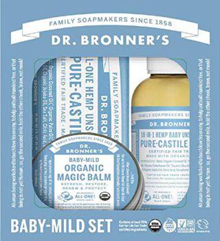 ドクターブロナー ドクターブロナー Dr. Bronner`s ベビーマイルドセット 無香料の画像