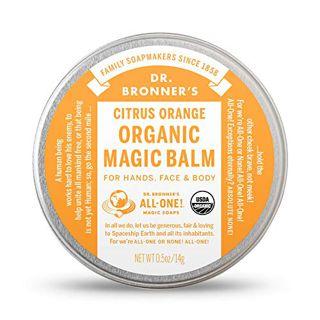 ドクターブロナー ドクターブロナー Dr. Bronner`s オーガニックバーム(シトラスオレンジ) 14g フレッシュな柑橘の香りの画像