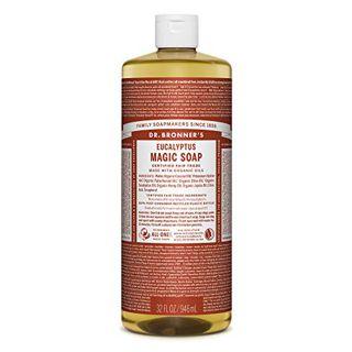 ドクターブロナー ドクターブロナー Dr. Bronner`s マジックソープ ユーカリ 946ml 透明感のあるシャープな香りの画像