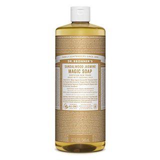 ドクターブロナー ドクターブロナー Dr. Bronner`s マジックソープ サンダルウッド&ジャスミン 946ml 甘くオリエンタルな香りの画像