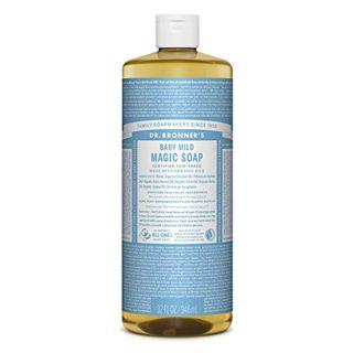ドクターブロナー ドクターブロナー Dr. Bronner`s マジックソープ ベビーマイルド  香りなし 946ml 無香料の画像