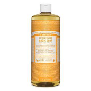 ドクターブロナー ドクターブロナー Dr. Bronner`s マジックソープ シトラスオレンジ 946ml フレッシュな柑橘の香りの画像