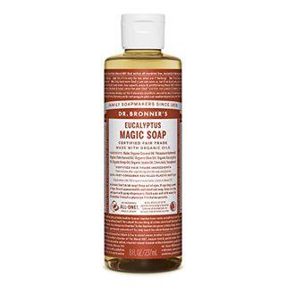 ドクターブロナー ドクターブロナー Dr. Bronner`s マジックソープ ユーカリ 237ml 透明感のあるシャープな香りの画像