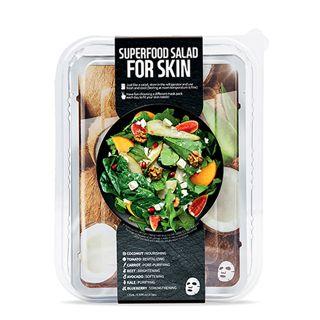 FARMSKIN スーパーフードサラダフォ-スキン パッケージ D (ココナッツ) 1枚/25ml 7種セットの画像