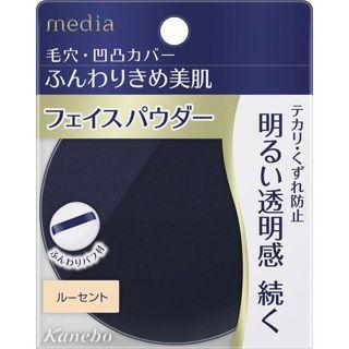 メディア メディア media フェイスパウダーS ルーセント 15gの画像