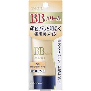 メディア メディア media BBクリームS SPF35 PA++ 03 健康的で自然な肌の色 35gの画像