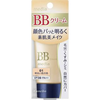 メディア メディア media BBクリームS SPF35 PA++ 01 明るい肌の色 35gの画像