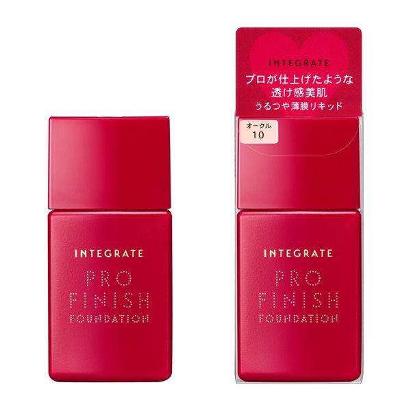 インテグレート INTEGRATE プロフィニッシュリキッド オークル10のバリエーション3