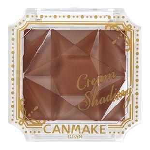 キャンメイク クリームシェーディング 01 ショコラブラウン 数量限定 2.4g の画像 0