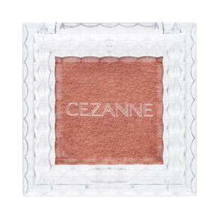 セザンヌ シングルカラーアイシャドウ 06 オレンジブラウン 1g の画像 0