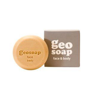 ジオソープ geosoap geosoap face & body 105g レモングラスの画像