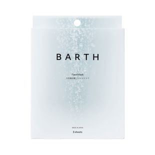 BARTH 中性重炭酸フェイスマスク 3枚 の画像 0