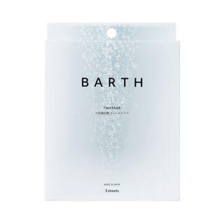 BARTH 中性重炭酸フェイスマスク 3枚の画像
