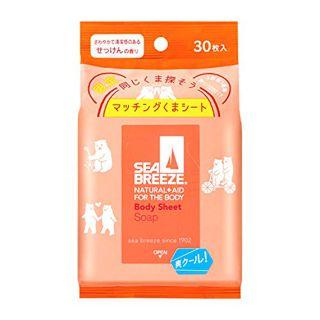 シーブリーズ ボディシート L せっけんの香り 30枚入の画像
