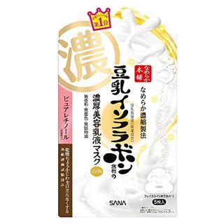 なめらか本舗 Nameraka Honpo リンクルジェル乳液マスク 本体 25g×5枚入