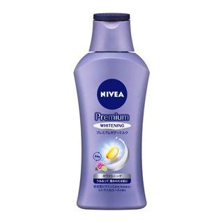 ニベア ニベア NIVEA プレミアムボディミルク ホワイトニング 本体 190g シトラス&ローズの香りの画像