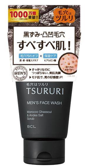 ツルリ 毛穴汚れスッキリ すべすべ洗顔 M 120gの画像