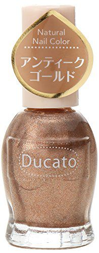 デュカート デュカート ナチュラルネイルカラー N81 アンティークゴールドの画像