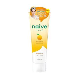 ナイーブ ナイーブ ナイーブ 洗顔フォーム(ゆずセラミド配合) 130g もぎたてのみずみずしいゆずの香りの画像