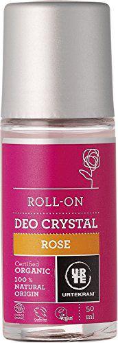 URTEKRAM(ウルテクラム) URTEKRAM(ウルテクラム) デュオクリスタル ローズ 本体 50 ml ローズゼラニウムのやさしい香りの画像