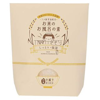 お米のお風呂の素  お米のお風呂の素 小盛り(保湿) 105g 和風の香りの画像