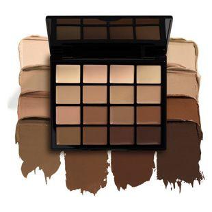 NYX NYX Professional Makeup(ニックス) プロファンデーション パレット 1 17.6g の画像 0