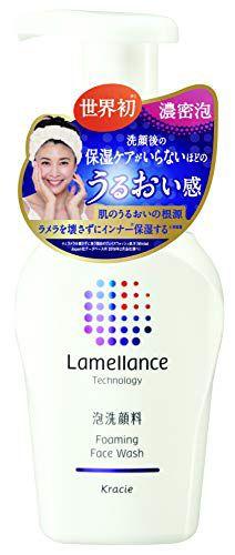 ラメランス ラメランス 泡フェイスウォッシュ 本体 160ml 透明感のあるホワイトフローラルの香りの画像