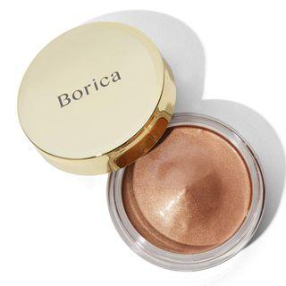 ボリカ 美容液ケアアイシャドウ 03シルキーグロウ シルキーブラウン 数量限定 7gの画像