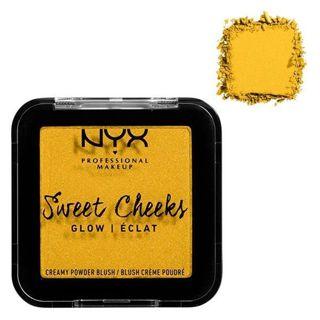 NYX NYX Professional Makeup(ニックス) スウィートチークス クリーミー パウダー ブラッシュ イン グロウ 11 カラー・サイレンス イズ ゴールデン 5.0gの画像
