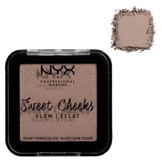 NYX NYX Professional Makeup(ニックス) スウィートチークス クリーミー パウダー ブラッシュ イン グロウ 09 カラー・ソー トープ 5.0gの画像