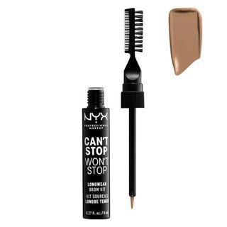 NYX NYX Professional Makeup(ニックス) キャントストップ ウォントストップ ブロウ インク キット 本体 02 カラー・トープ 8mlの画像