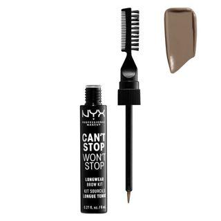 NYX NYX Professional Makeup(ニックス) キャントストップ ウォントストップ ブロウ インク キット 本体 01 カラー・ブロンド 8mlの画像