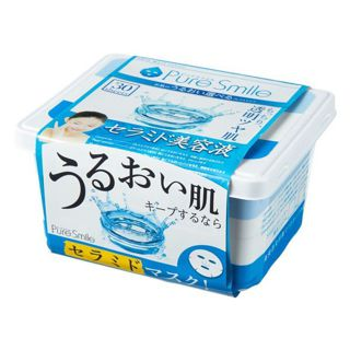 ピュアスマイル PureSmile(ピュアスマイル) フェイスパック エッセンスマスク 30枚セット セラミド美容液・3S03の画像
