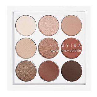 EUYIRA eyeshadow palette natural brown nine の画像 0