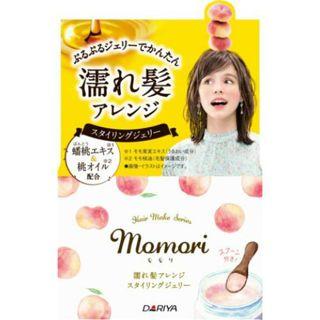 モモリ モモリ 濡れ髪アレンジ スタイリングジェリー 100g 甘く優しい桃が香るフルーティフルールの香りの画像