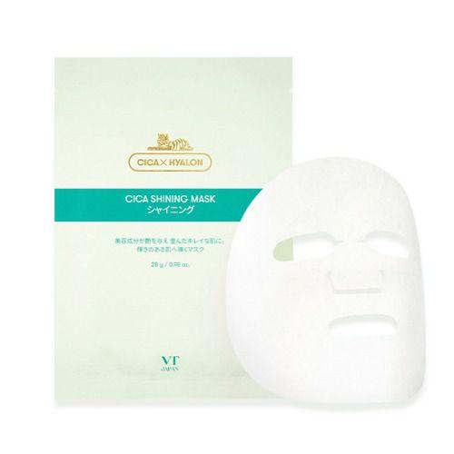 VT cosmeticsのCICA シャイニングマスク 28gx6個入りに関する画像1