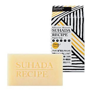 素肌レシピ 素肌レシピ SUHADA RECIPE アルガノソープEX 80g ネロリの画像