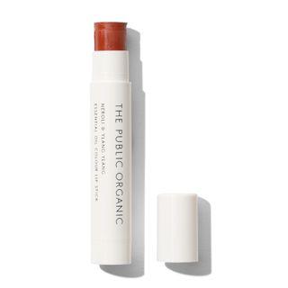 ザ パブリック オーガニック オーガニック認証 精油カラーリップスティック ノーブルオレンジ 3.5gの画像