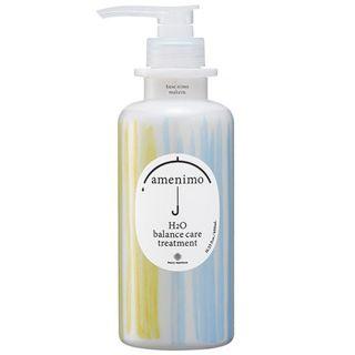 amenimo amenimo H2O バランスケア トリートメント 本体 480mL リーフィーローズの香りの画像