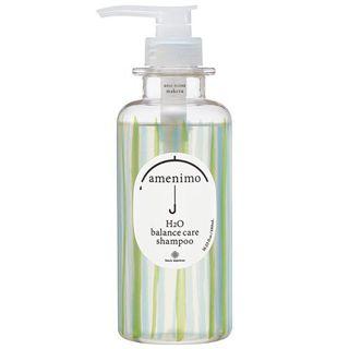 amenimo amenimo H2O バランスケア シャンプー 本体 480mL リーフィーローズの香りの画像