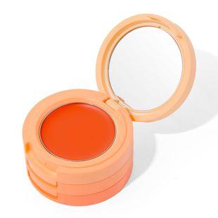 アンドカラー 3inコンパクト リップ&アイズ アマンダオレンジ の画像 0
