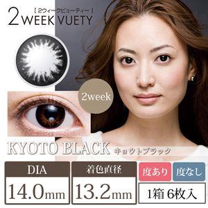 ビューノ 2weekビューティー 6枚/箱 (度なし) 京都ブラック の画像 0