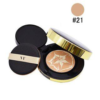 VT cosmetics エッセンススキンファンデーションパクト 21 号 +++ 12g SPF50 PA+++の画像