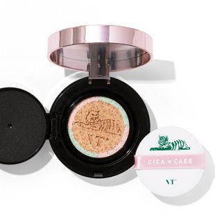 VT cosmetics シカレッドネスモイスチャーカバー クッション 21号 ライトベージュ 14g の画像 0