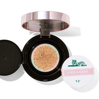 VT cosmetics シカレッドネスモイスチャーカバー クッション 23号 ナチュラルベージュ 本品14g+リフィル14gの画像
